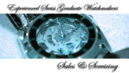 Experienced Swiss Graduate Watchmakers