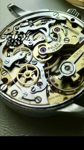 Rolex 17 jewels movement vintage model