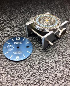 luminor panerai blue dial