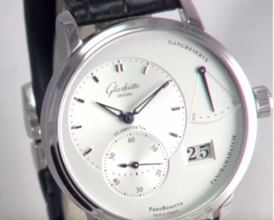 glashutte pano power reserve complication