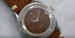Universal Geneve Brown Dial Manual Wind