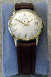 vintage elgin manual wind watch