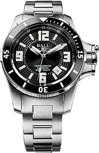 ball chronometer stainless watch