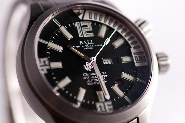 Ball Titanium Automatic Watch