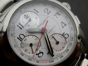 baume and mercier chronograph service