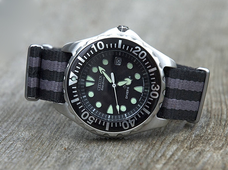 citizen divers watch eco drive