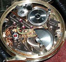 hamilton inner mechanism of pocket watch