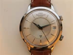 jaeger lecoultre mens memovex watch