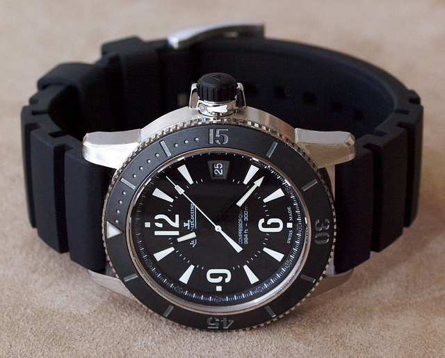 jaeger lecoultre navy seal black watch