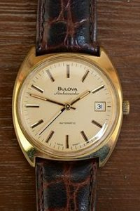 bulova ambassador automatic watch