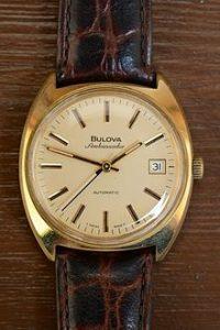 bulova ambassador automatic watch