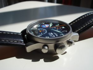 Fortis Flieger Chronograph Sideview