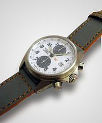 glycine automatic watch chronograph