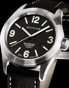 glycine incursore stainless steel automatic