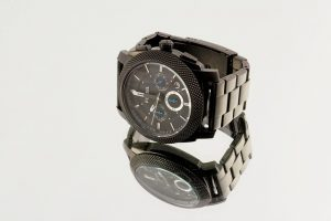 fossil chronograph black watch design quartz